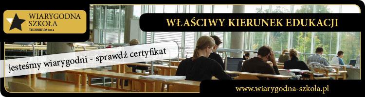 baner_Wiarygodna szkoła