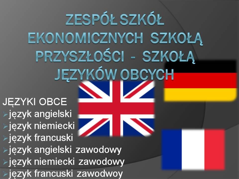 języki obce zse