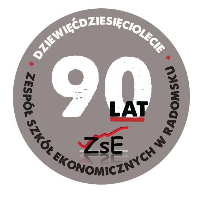logo 90-lecia ZSE