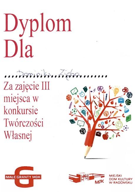 dyplom-dominika-zieba